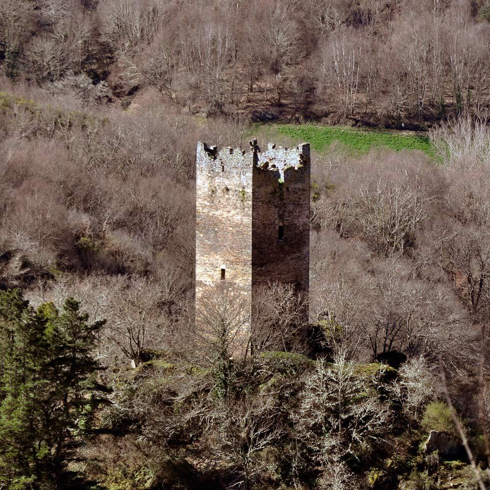 Via de Künig por Lugo: Torre de Doncos