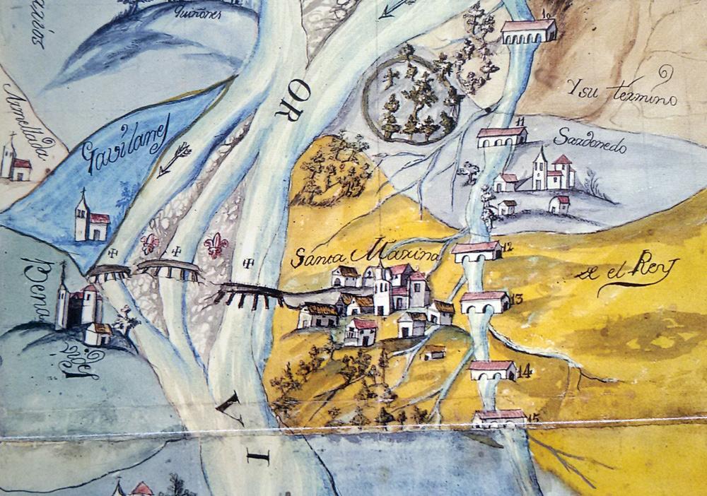 """Santa Marina del Rey y Benavides, en la ruta de la peregrinación a Compostela que alcanza el Bierzo, """"sin pasar montaña alguna"""""""