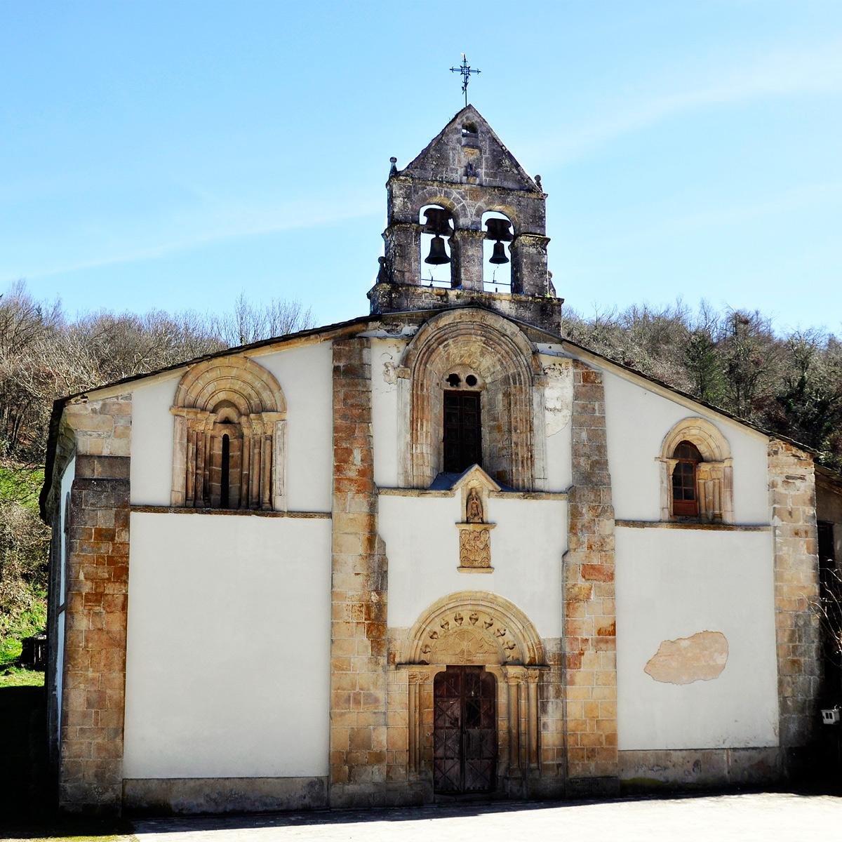 Monaterio de Penamaior fachada del templo