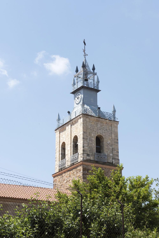 Campanario de la iglesia de Benavides de Órbigo