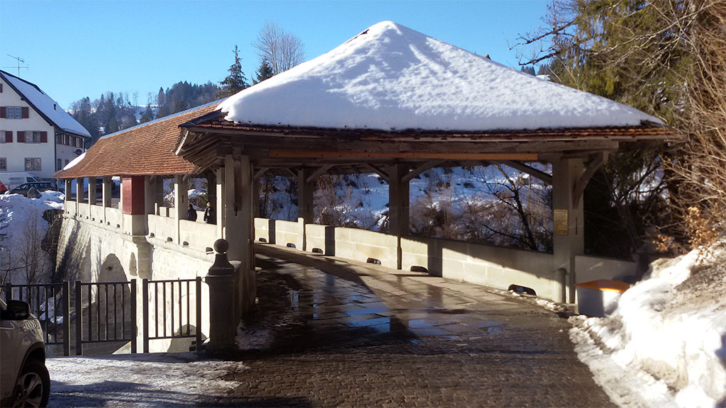 el puente del diablo, cerca de Einsiedeln