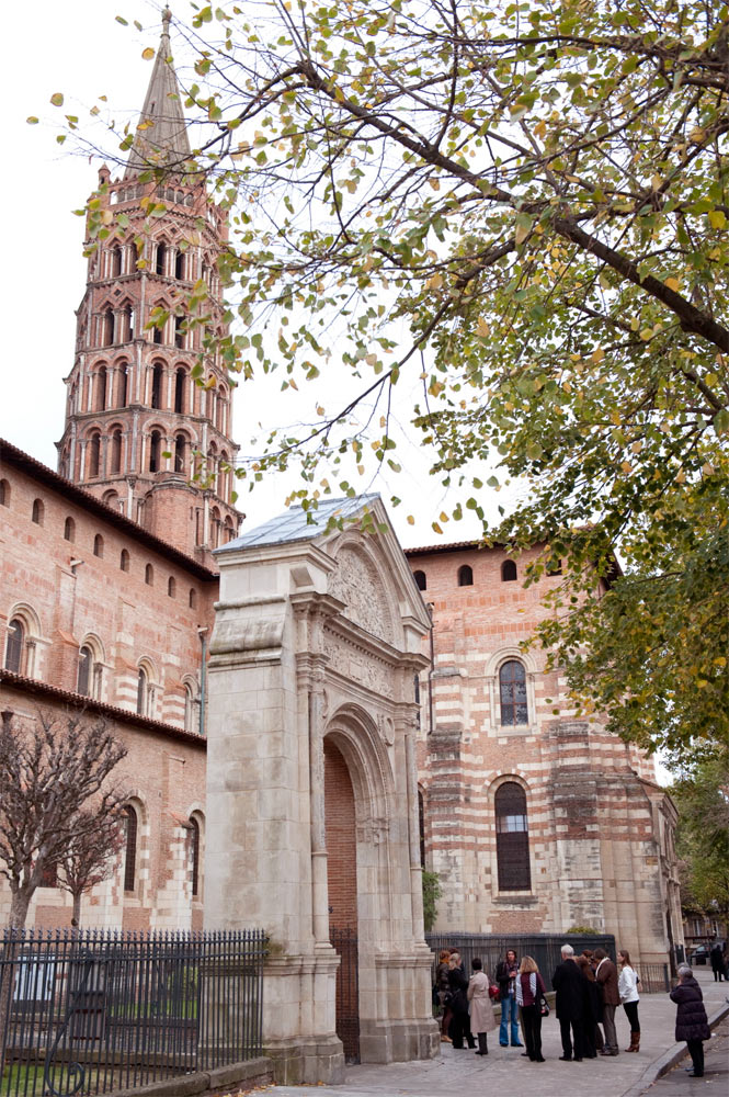 Basílica de San Sernín en Toulouse. Cédric Helsly © Atout France