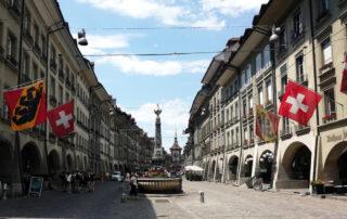 Markgasse una calle especial de Berna