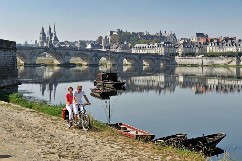 Blois, junto al Loira