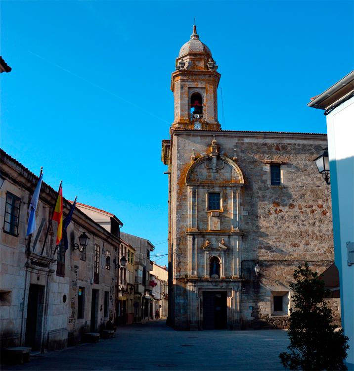 iglesia parroquial de Melide