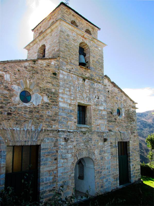 iglesia de san Xoan de Noceda en Lugo