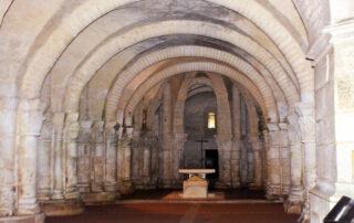 Cripta de san Eutropio, en saintes