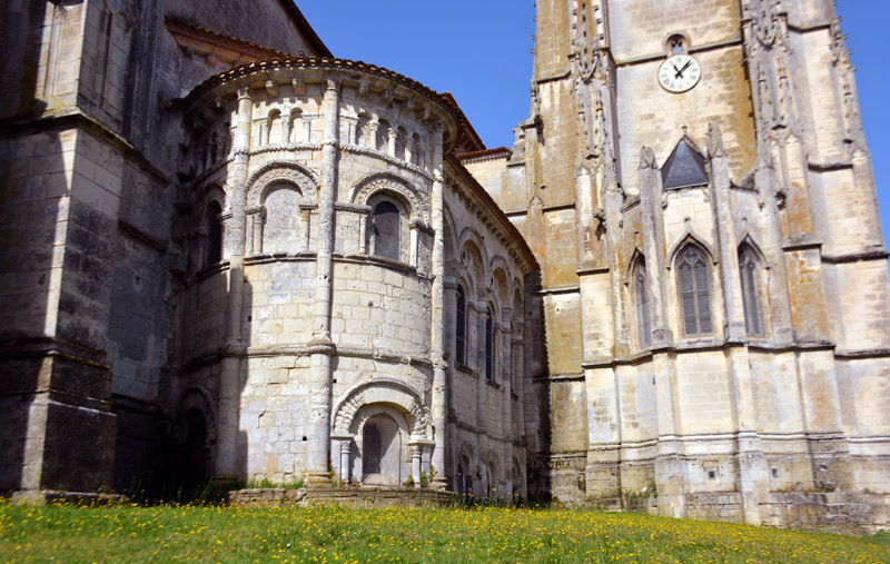 iglesia san Eutropio en Saintes