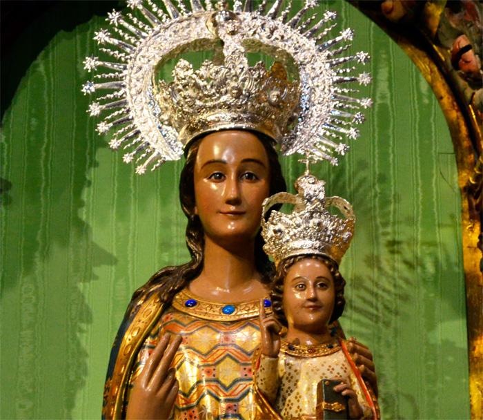 la virgen de la esperanza de Logroño