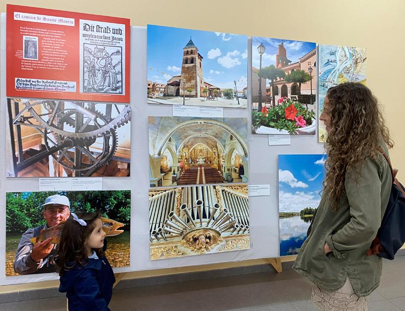 Exposición sobre Künig y valle del Órbigo