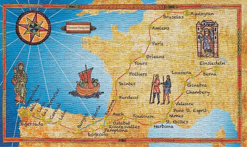 mapa de la guia de kunig