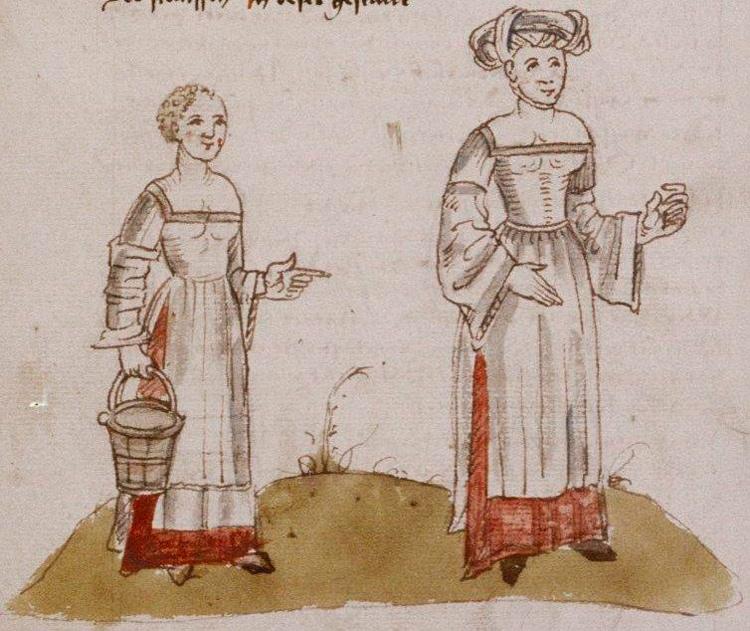 Mujeres vascas arnold von harff
