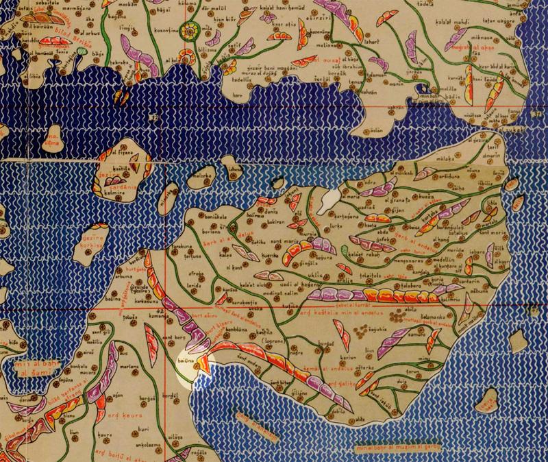 Mapamundi de Al Idrisi
