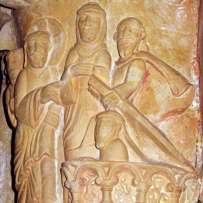 Resurreccion lazaro en san Isidoro