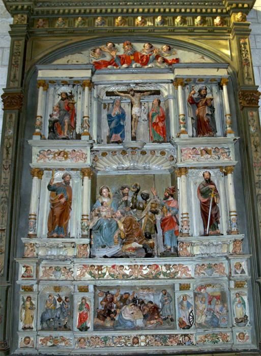 Retablo de los Reyes, Vitoria