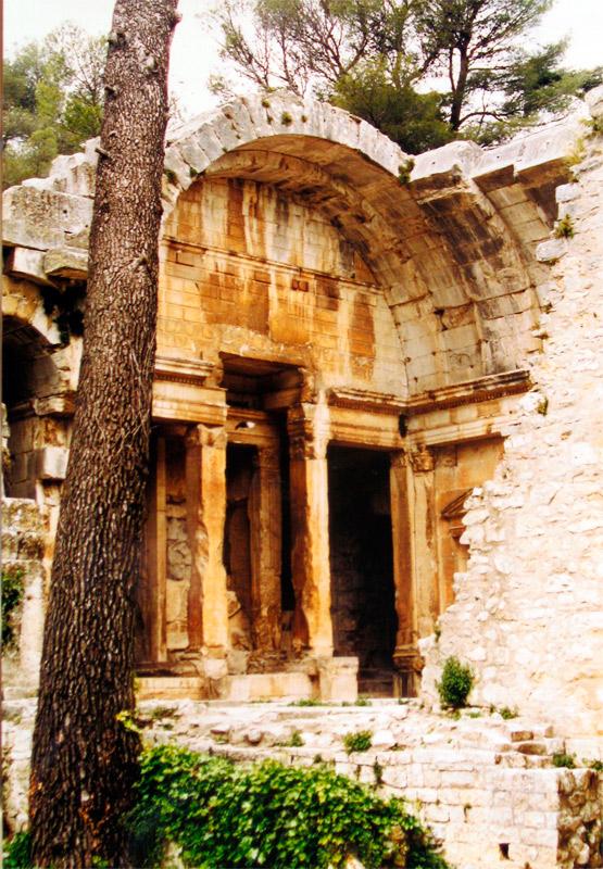 Templo de Diana, en los Jardines de La Fontaine