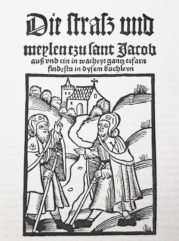 Portada de la Guía de Künig impresa en Leipzig
