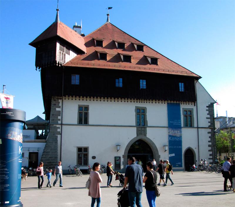 Edificio medieval de Konzil, en Constanza