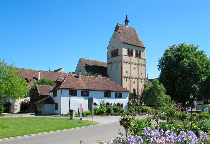 Abadía de Mittelzell, en la Isla de Reichenau