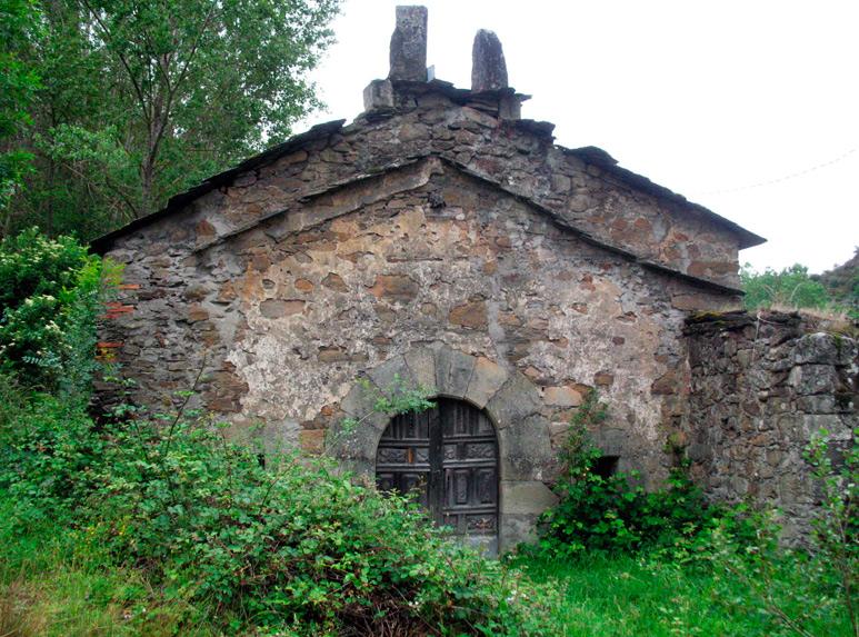 La ruinosa ermita de Santa María Magdalena