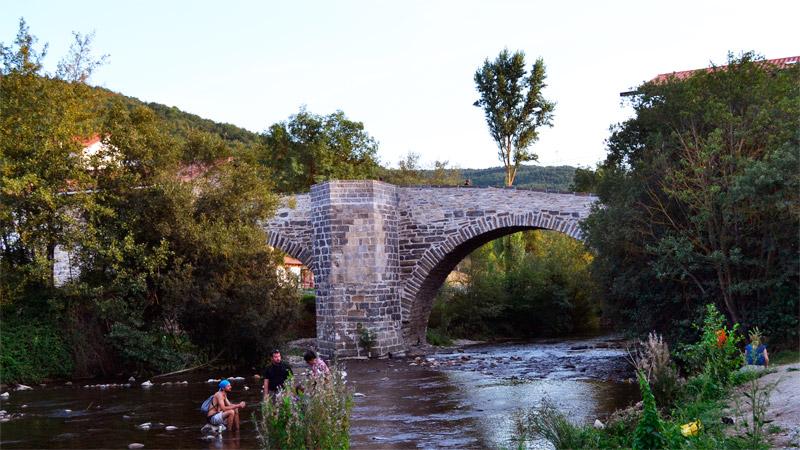 Puente del Paraíso Zubiri, Navarra