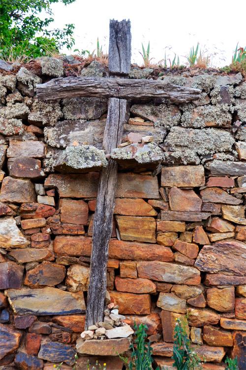 Cruz en el Ganso, León