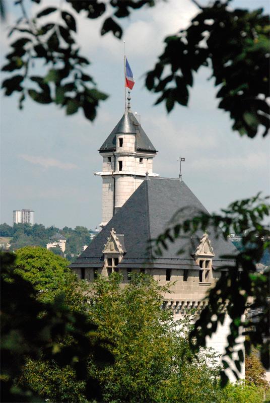 Castillo de los duques de Saboya en Chambéry