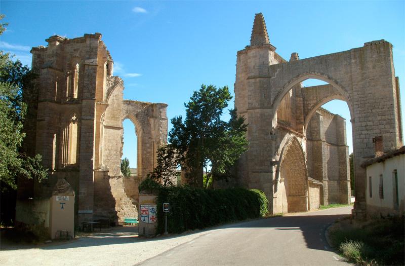 Monasterio de San Antón en Castrojeriz