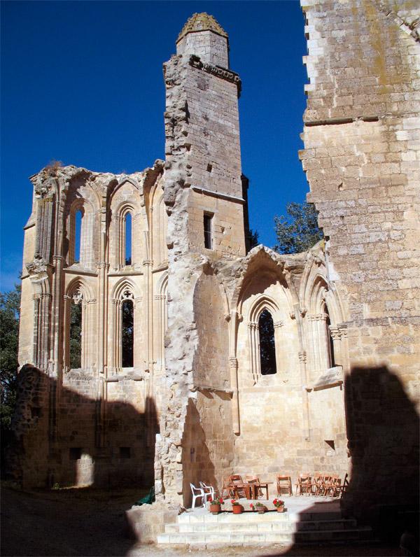 Monasterio de San Antón en Castrojeriz. Muros góticos