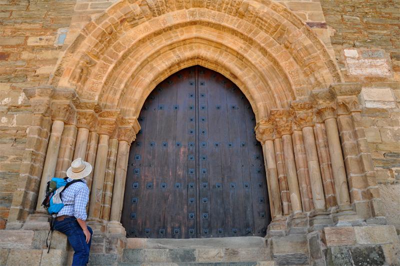 Villafranca del Bierzo. Puerta del Perdón