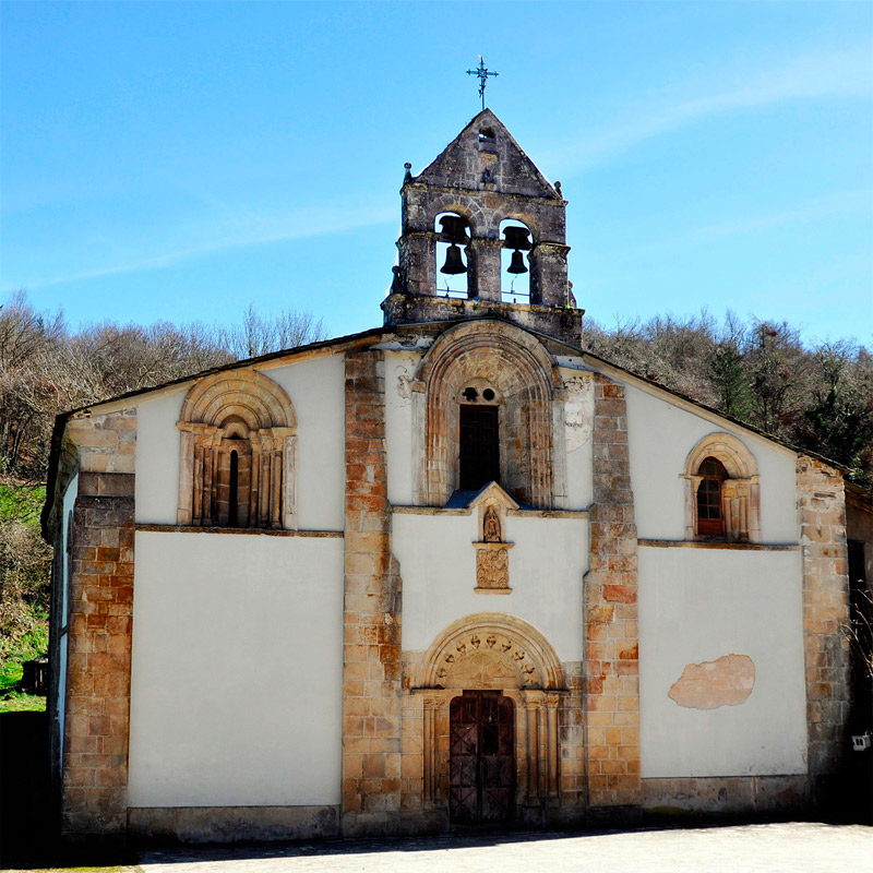 Santa Maria de Penamaior, en la Vía de Künig por Lugo