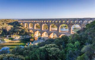 Cerca de Uzès se halla el Pont du Gard