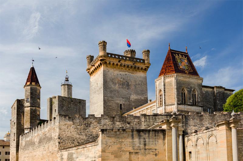Uzès: el palacio Ducal