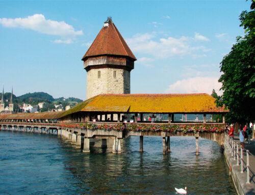 Lucerna y el puente más bello de la guía de Künig