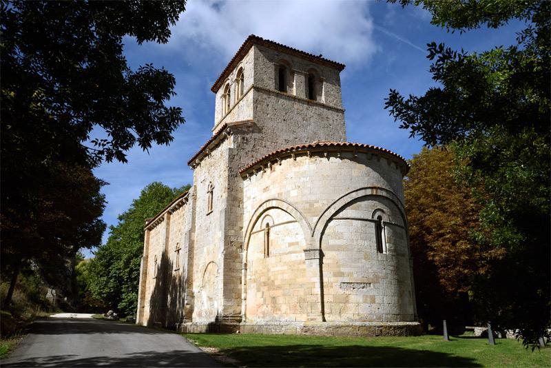 Nuestra Señora del Valle, en Monasterio de Rodilla, Burgos.